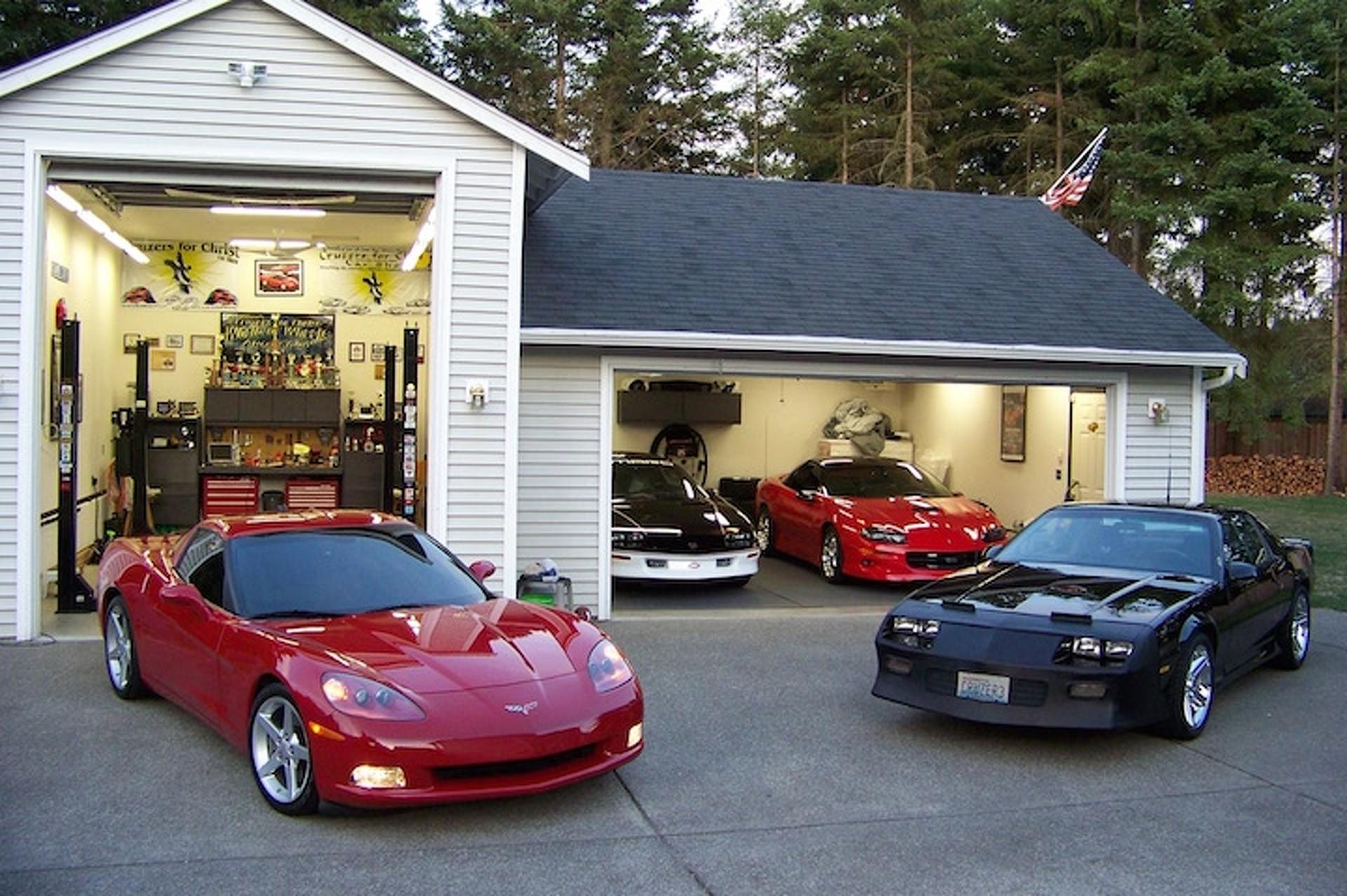 Очень крутые машины с домами