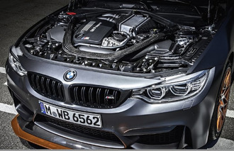 BMW M4 GTS Uses Water-Injection System to Make Track-Day Power