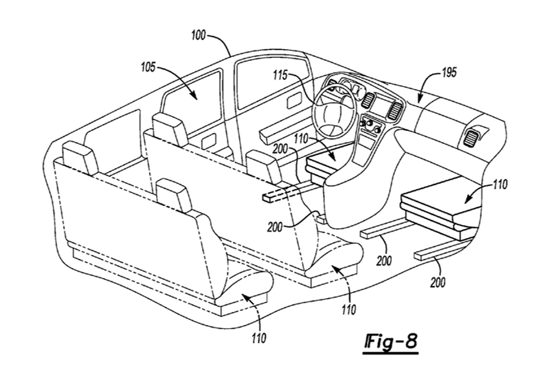 Intrior A Car Diagram Circuits Symbols Diagrams Ldv Maxus Central Locking Wiring New Ford Patent Reveals Shape Shifting Interior Rh Motor1 Com