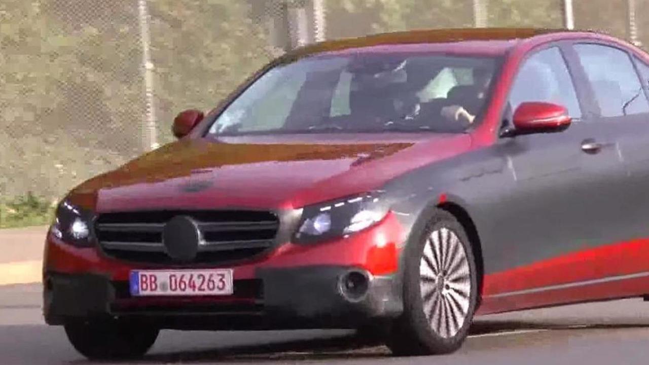 2016 Mercedes-Benz E-Class Sedan screenshot from spy video