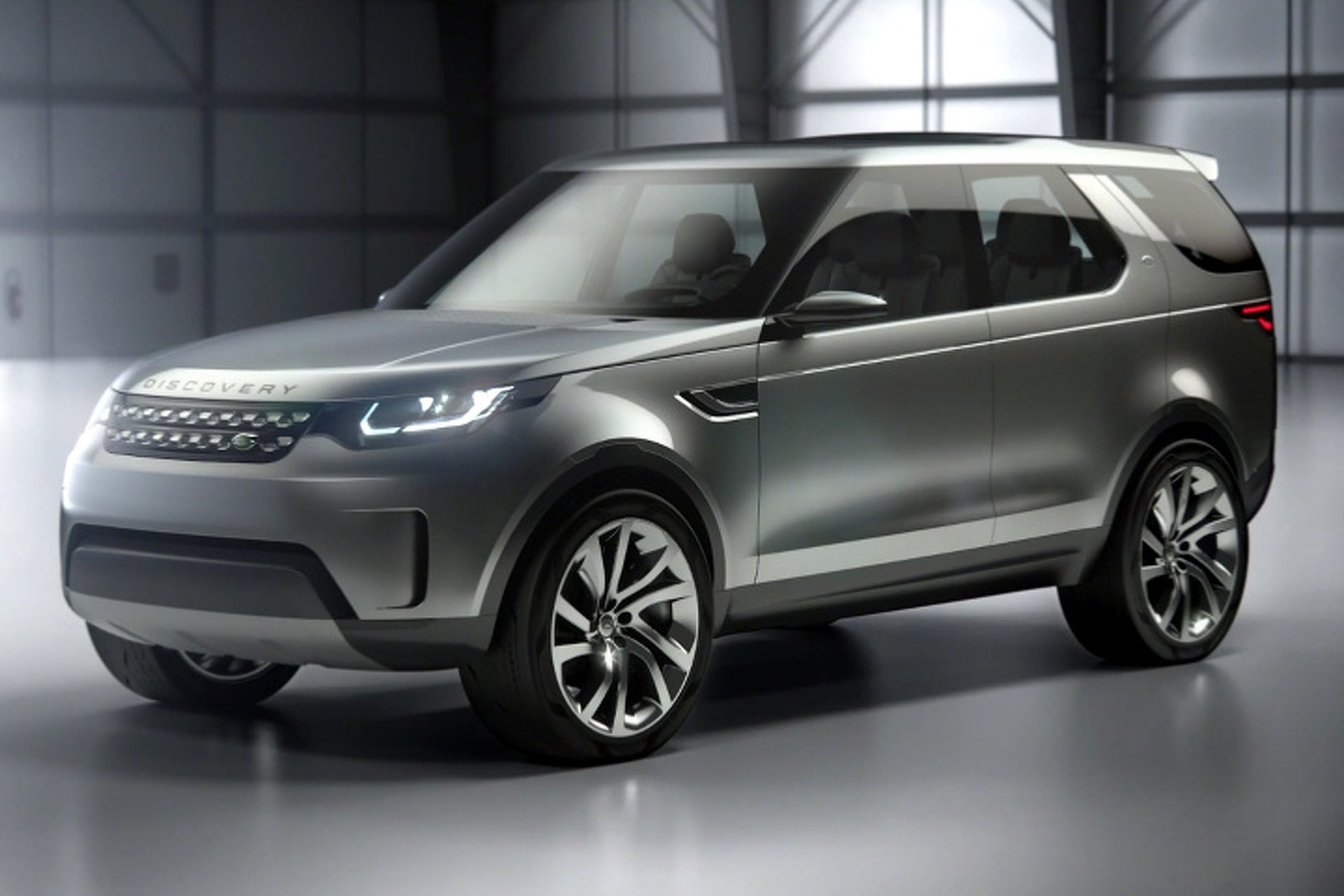 Land Rover Discovery Vision Concept Says So Long To Square Coupling