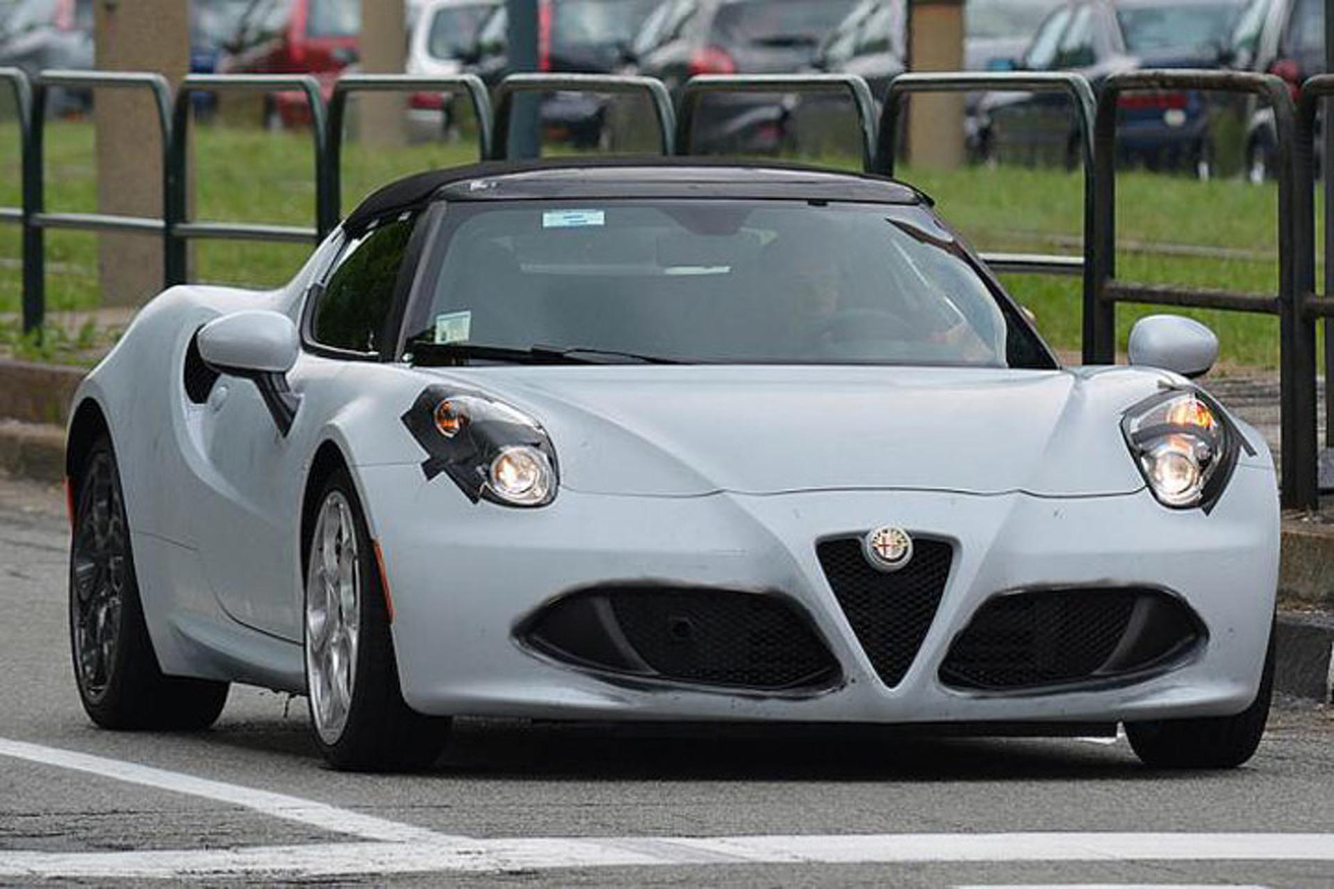 2015 Alfa Romeo 4C Spider Source GotTeamDesigns