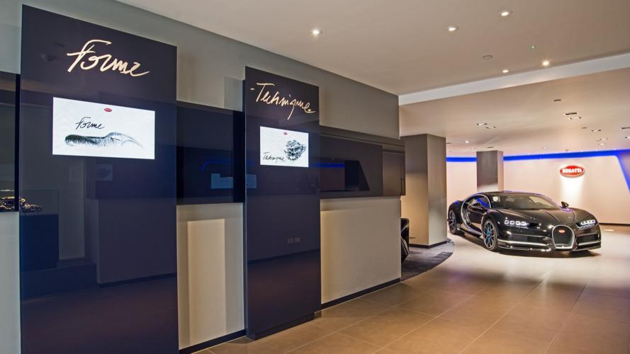 Showroom Bugatti UK