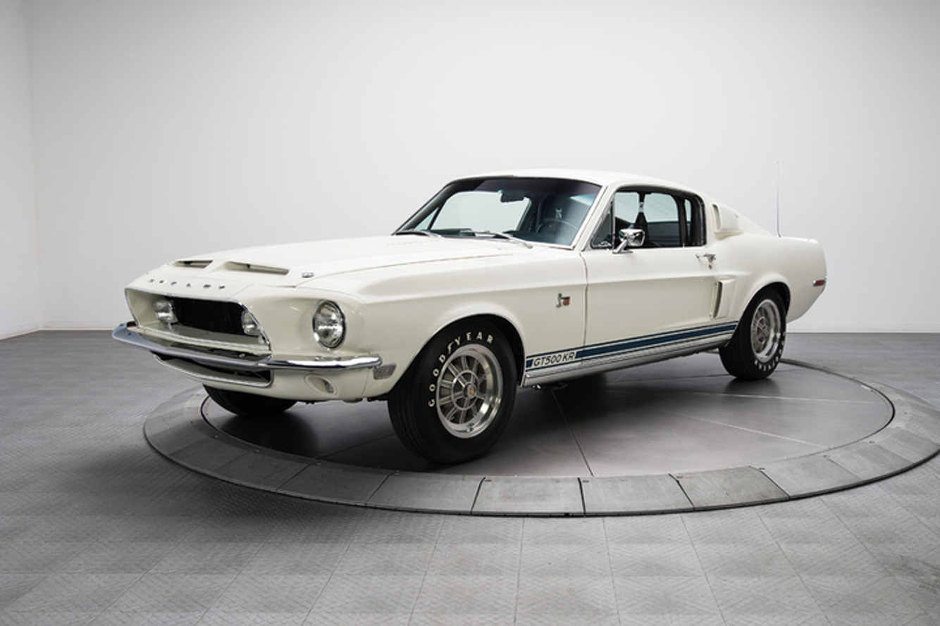 You're Drooling: Mint 1968 Shelby GT500KR for Sale