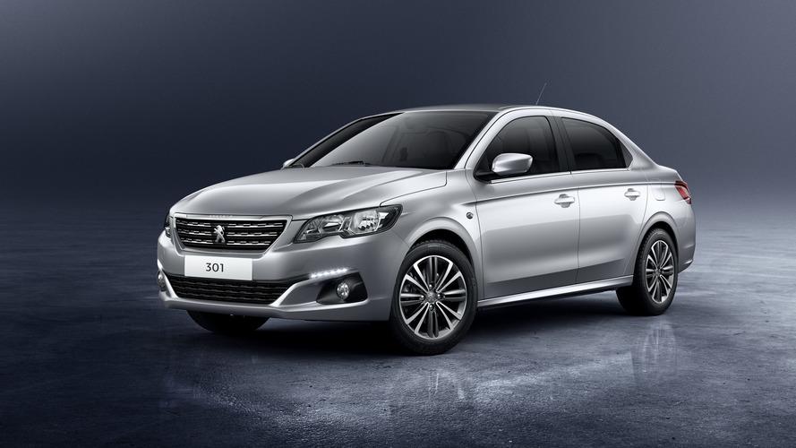 Sedã derivado do 208, Peugeot 301 ganha novo visual e mais equipamentos