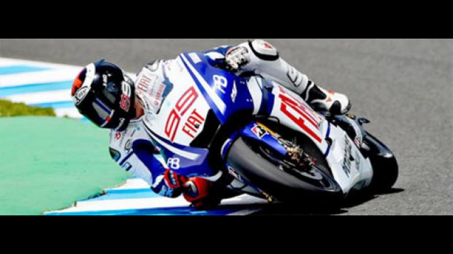 MotoGp, Estoril, libere 2: col sole Lorenzo splende