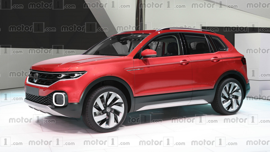 This is what VW's new Polo-based crossover could look like