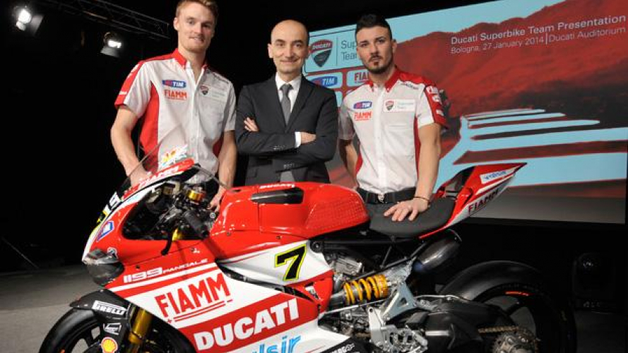 Ducati Superbike Team 2014: presentato oggi in streaming