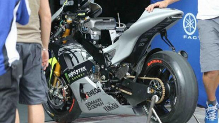 MotoGP 2013: ecco la M1 di Rossi!