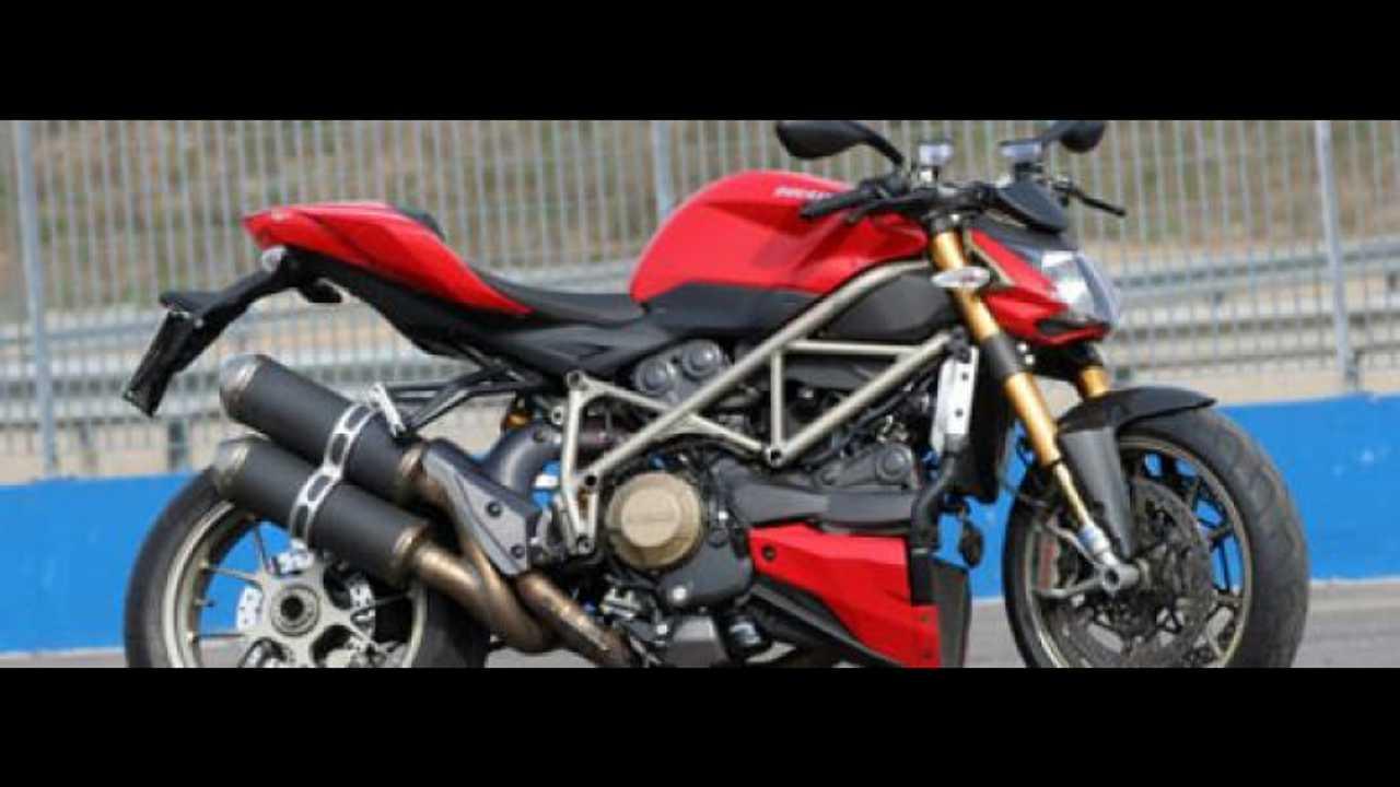 Ducati Streetfighter @ Franciacorta: test day