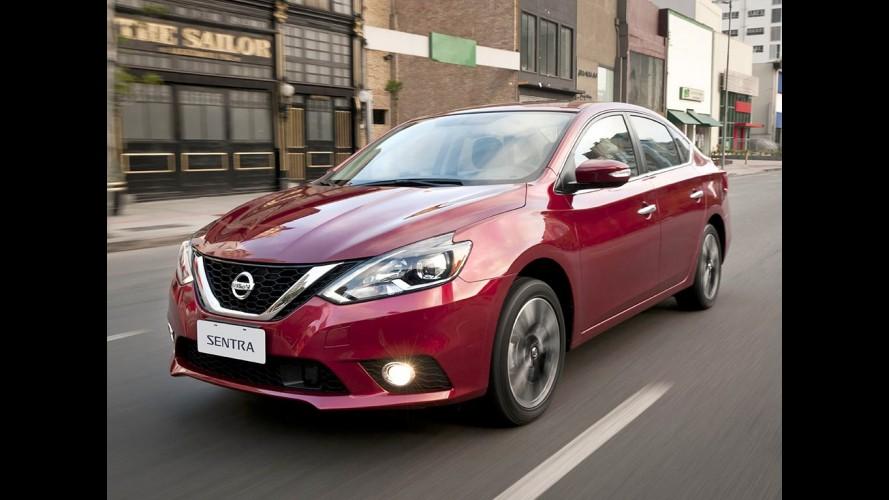 EUA: Nissan supera Honda em vendas com destaque para Sentra e Versa