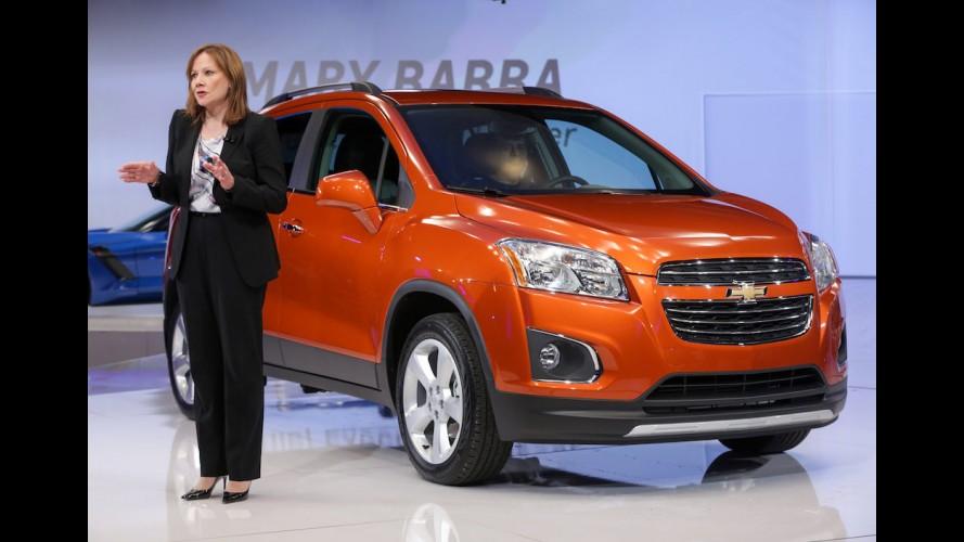 CEO da GM, Mary Barra foi cotada para ser vice na chapa de Hillary Clinton
