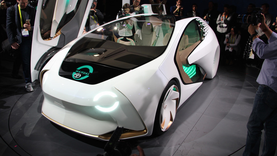 Toyota Concept-i al CES 2017