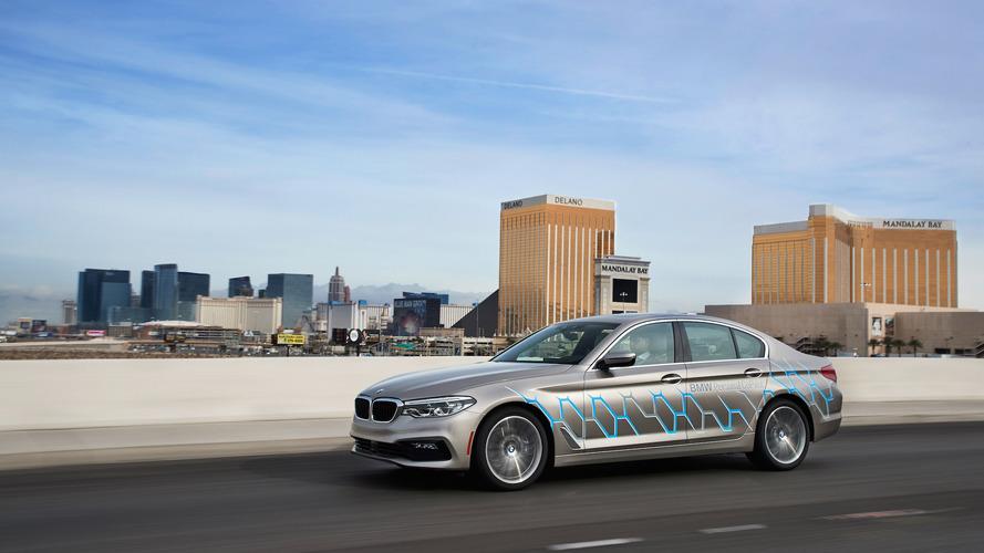 BMW 5 Series Autonomous Prototype