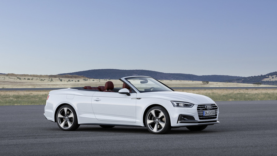 Üstü açılır Audi TT ve A5'in yerini A4 Cabrio alabilir