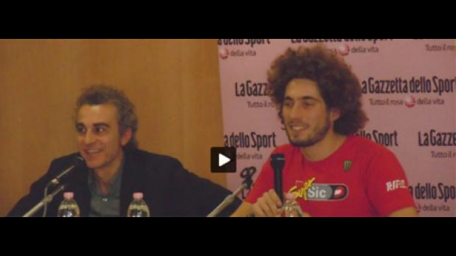 Motor Show 2010: flash e fan per Simoncelli