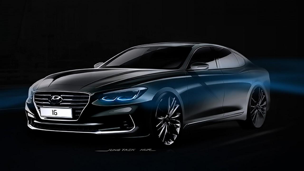Próxima geração do Hyundai Azera aparece mais europeia (e bonita) do que nunca