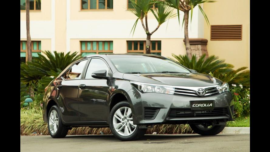 """Mercado: Toyota cresce nas vendas e entra no """"G4"""" pela 1ª vez em julho"""