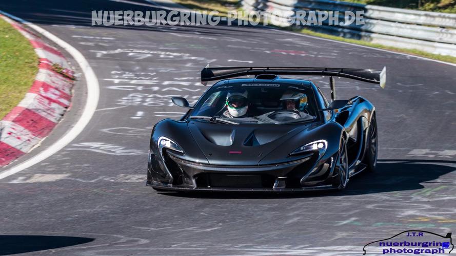 McLaren P1 LM, Nürburgring rekorunu kırmaya mı çalışıyor?