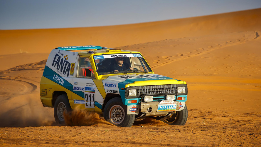 Nissan Patrol Paris-Dakar Rally 1987