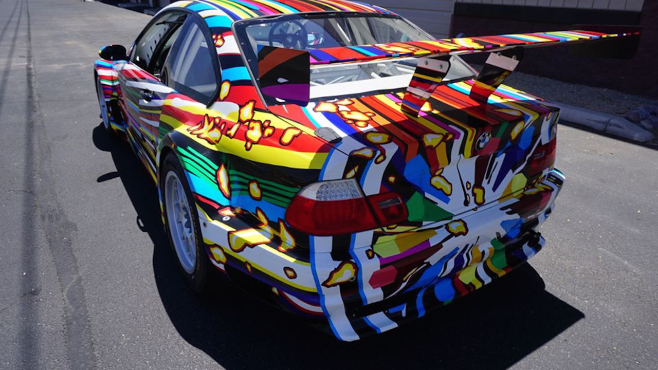 BMW M3 Art Car eBay find is the replica racer of your dreams