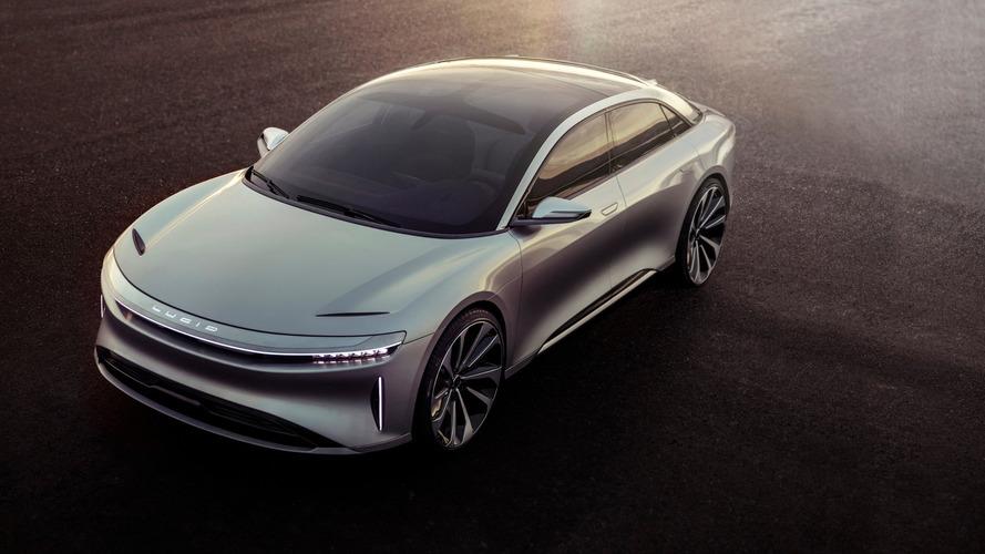 Lucid Motors apresenta o Air, sedã elétrico de alto luxo e 1.013 cv