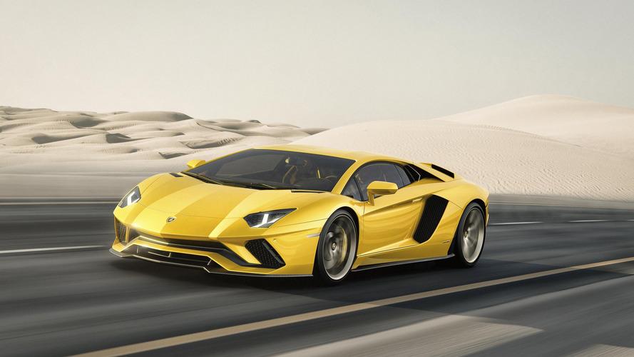 Lamborghini lève le voile sur sa nouvelle Aventador S !