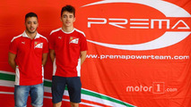 Antonio Fuoco and Charles Leclerc, Prema racing