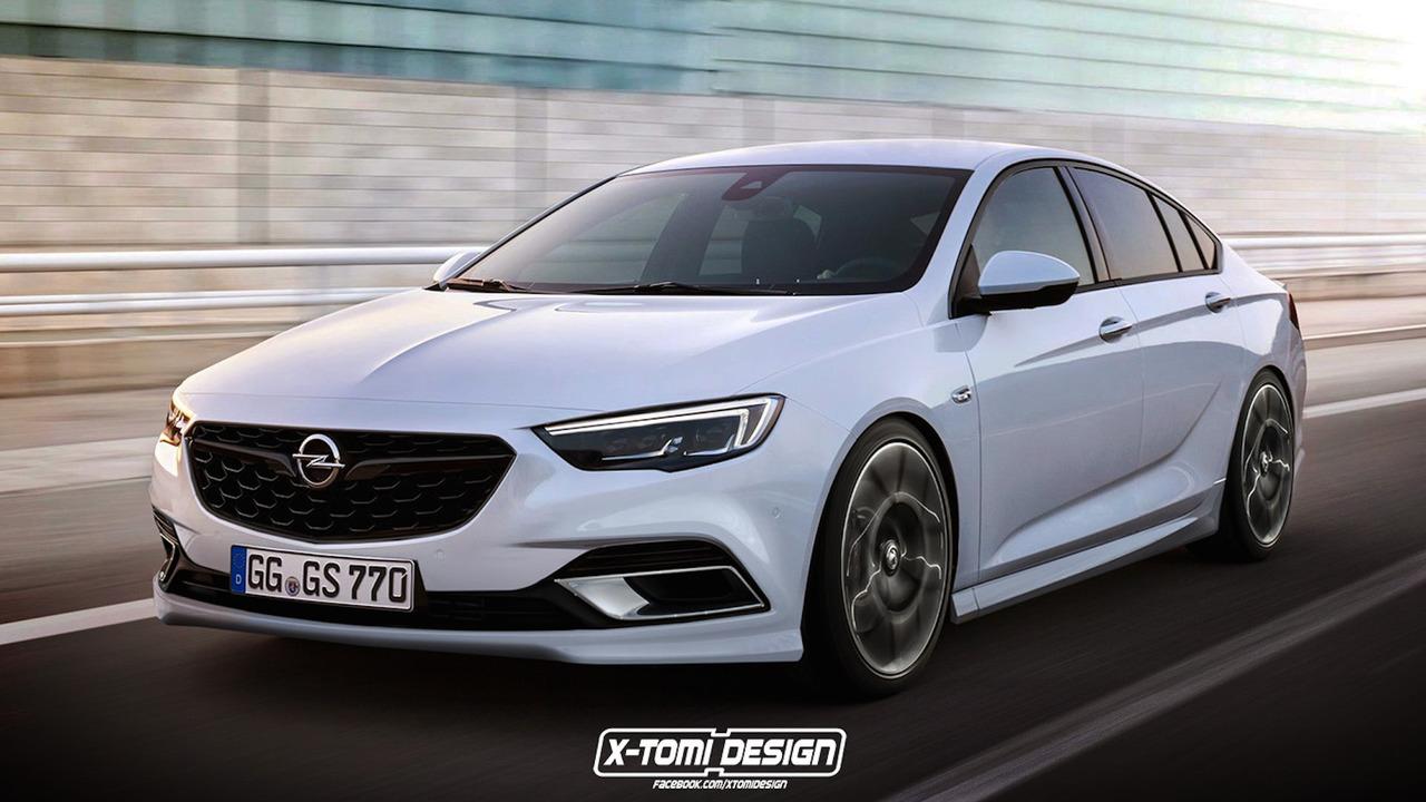 Opel Insignia OPC Rendering