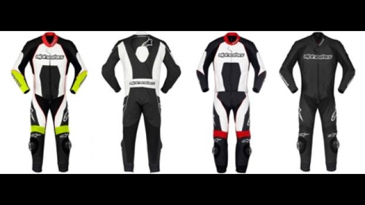 Alpinestars 2012: Carver one/two Piece Leather Suit