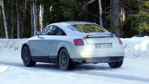 New Audi TT Spy Photos