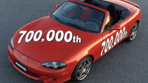 Mazda MX-5 production number 700,000