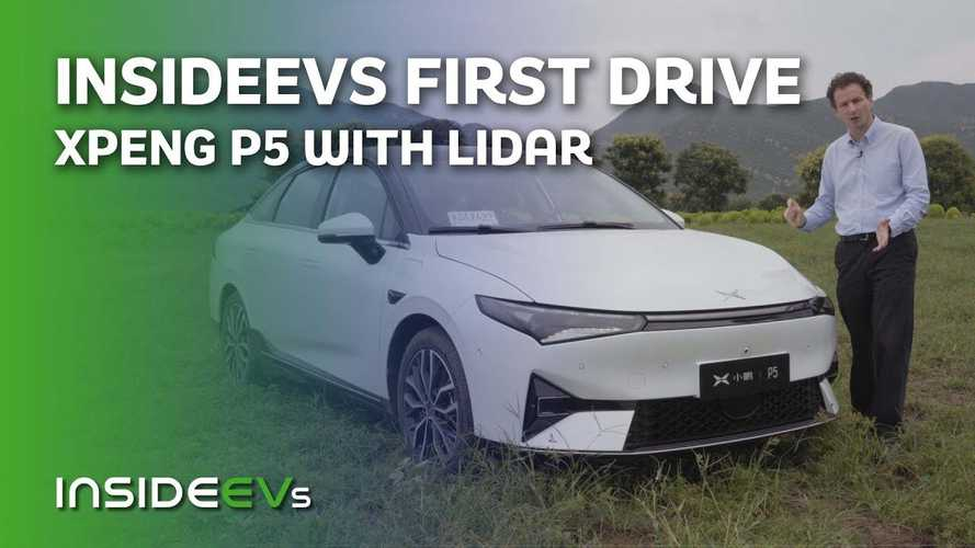 Meet the Xpeng P5: World's first production EV with LIDAR