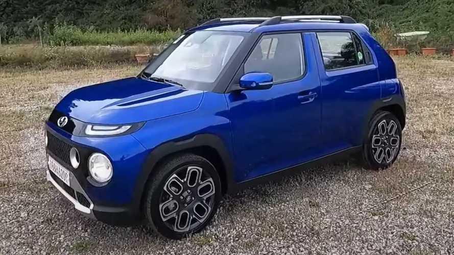 Hyundai Casper: Mikro-SUV zeigt viele Details im Video