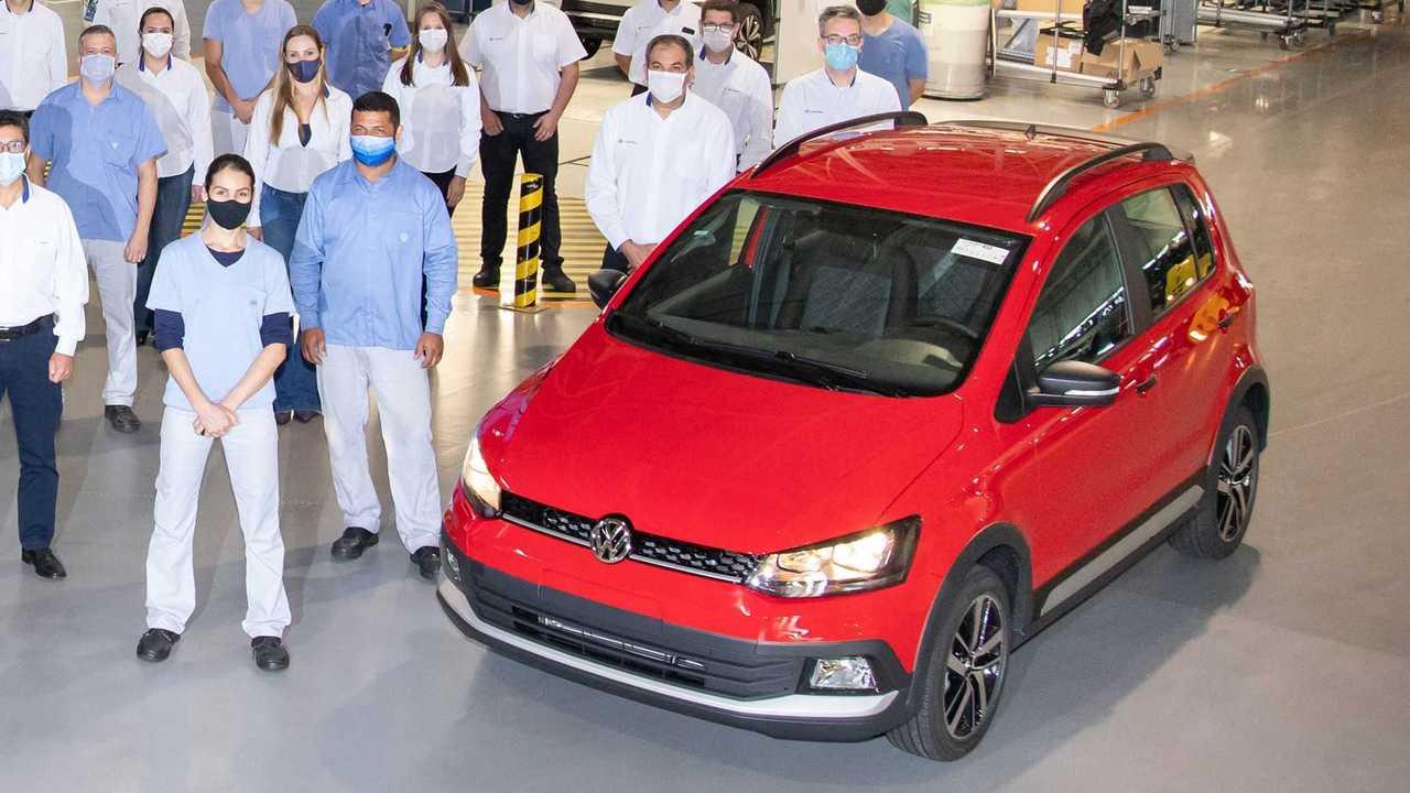 Último Volkswagen Fox produzido no Brasil