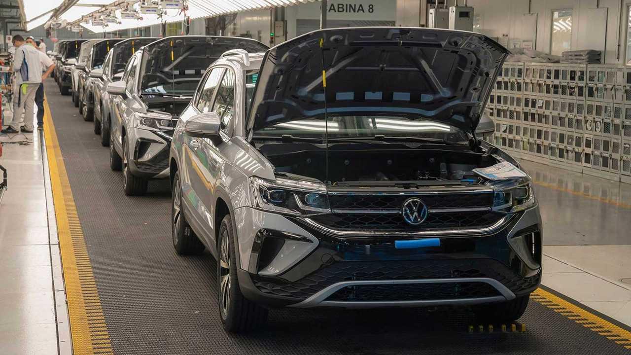 VW Taos - fábrica de Pacheco