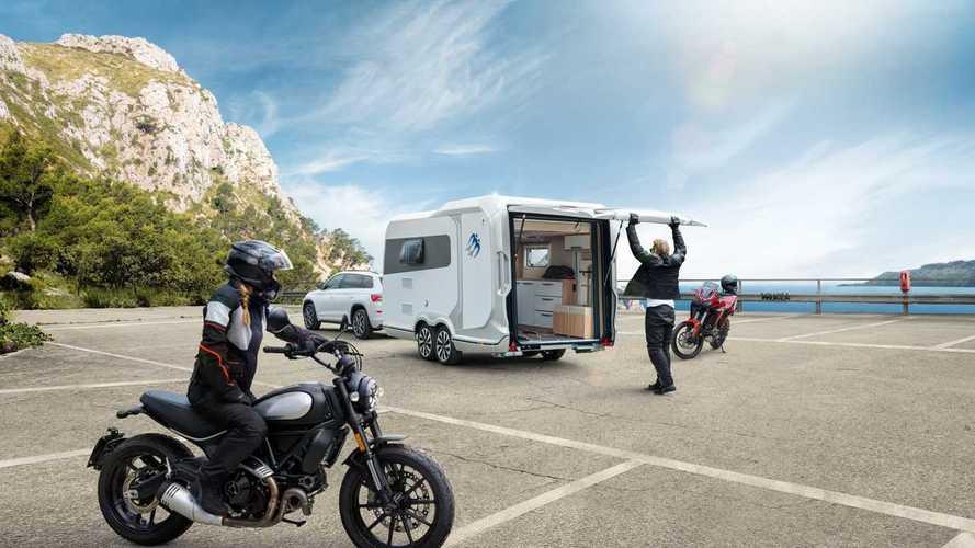 Knaus Deseo 400 TR Edition IC-Line - Une caravane avec garage moto
