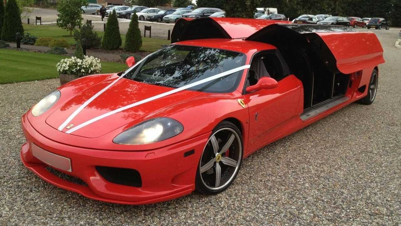 Ferrari 360 Modena limusina de ocho plazas en venta