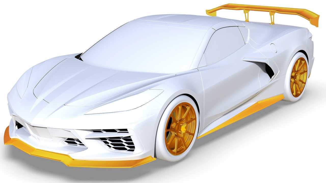 Teaser Chevrolet Corvette C8 Callaway Cars