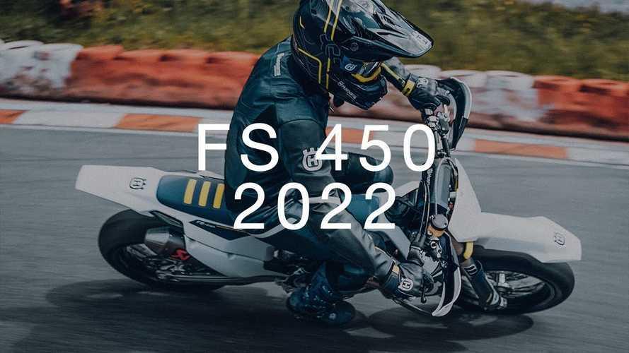 Husqvarna Modestly Updates 2022 FS 450 Supermoto Platform