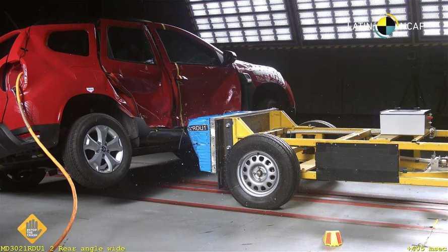 Renault Duster бразильской сборки провалил краш-тест Latin NCAP