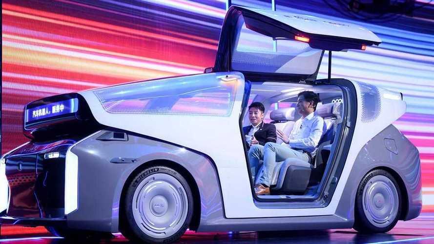 Китайский IT–гигант продемонстрировал беспилотный концепт