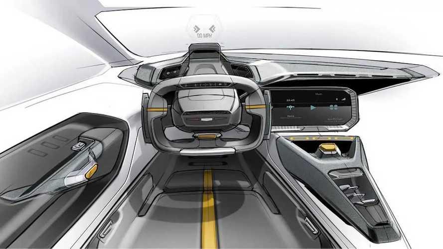 الكشف عن مخطط تصميم أولي لمقصورة سيارة رياضية من جنرال موتورز