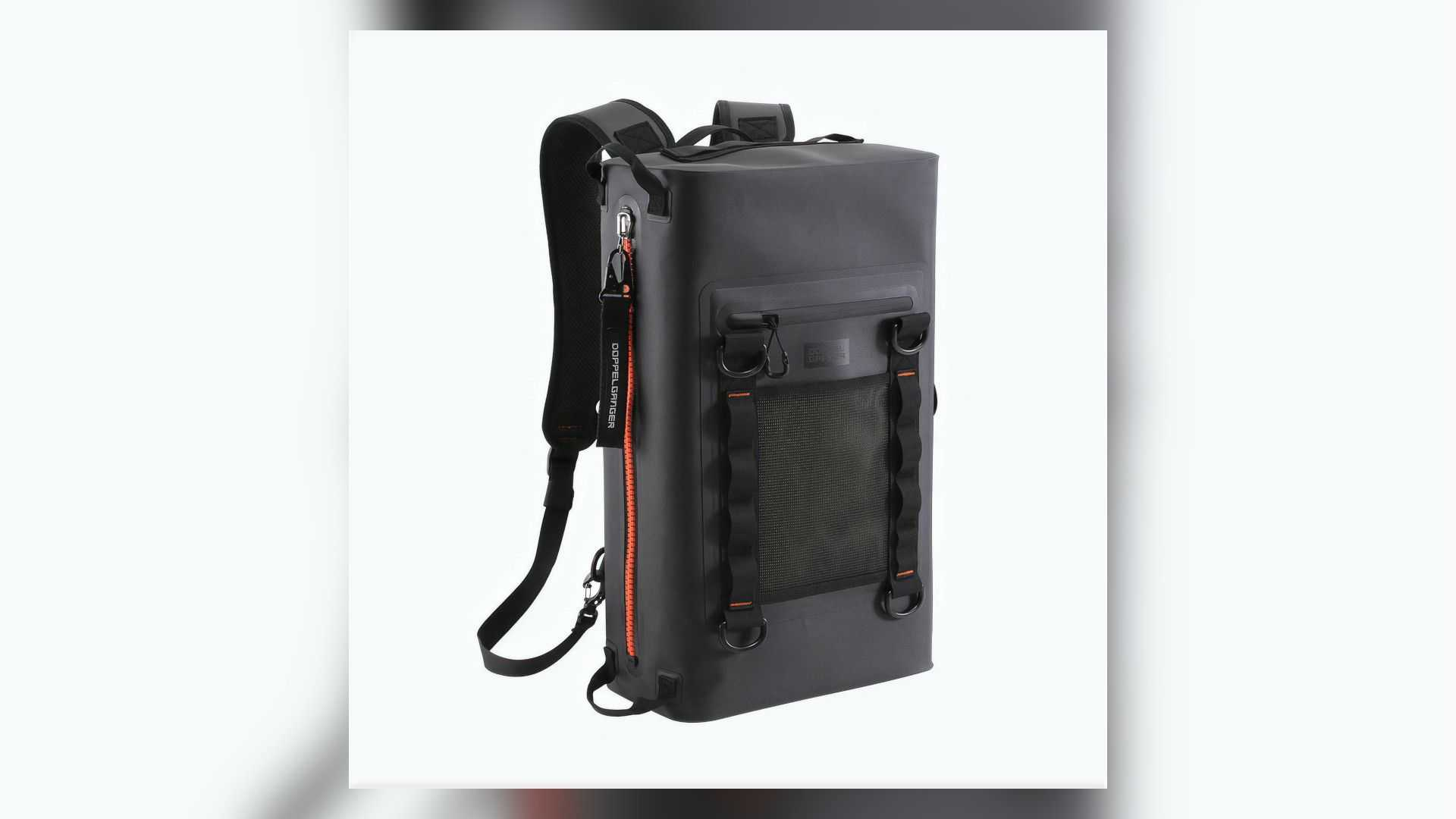 Doppelganger TPU Waterproof Backpack - Back View