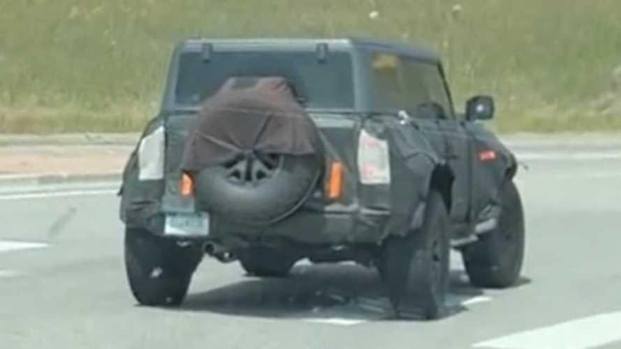 New Ford Bronco Raptor Spy Video Shows Off-Roader Still In Camo