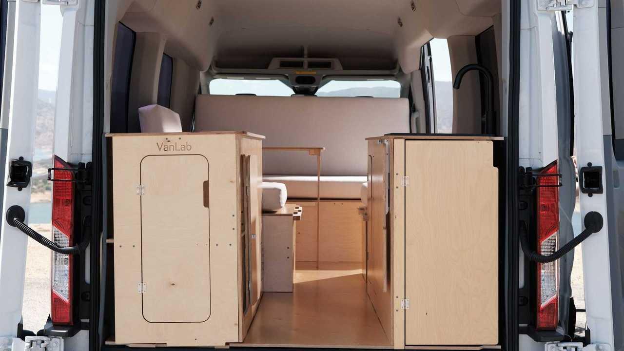 Комплект VanLab для переоборудования фургона в кемпер