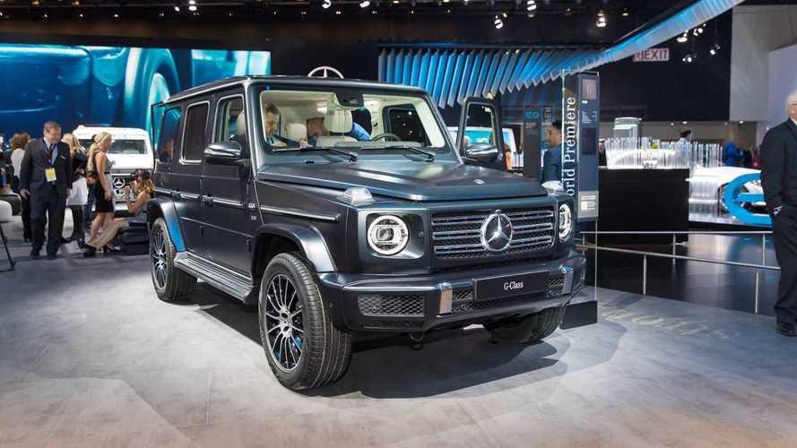 Mercedes G-Klasse mit Elektroantrieb als EQG auf der IAA?