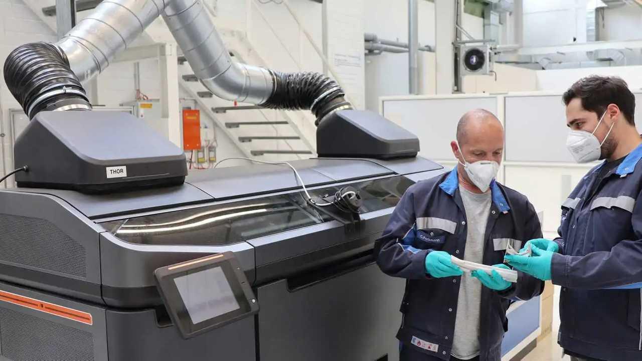 VW 3D printing technology