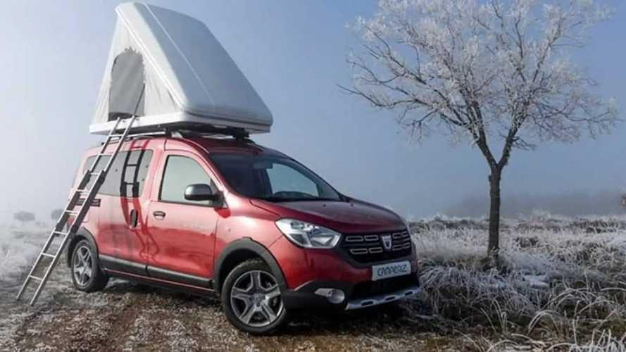 Camper Van Dacia Dokker: Lebih Praktis dan Murah untuk Kemah