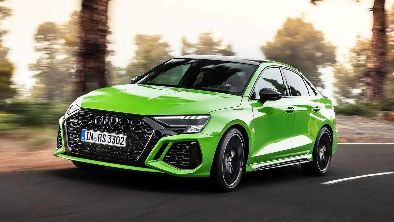 Új Audi RS 3 szedán (2021)
